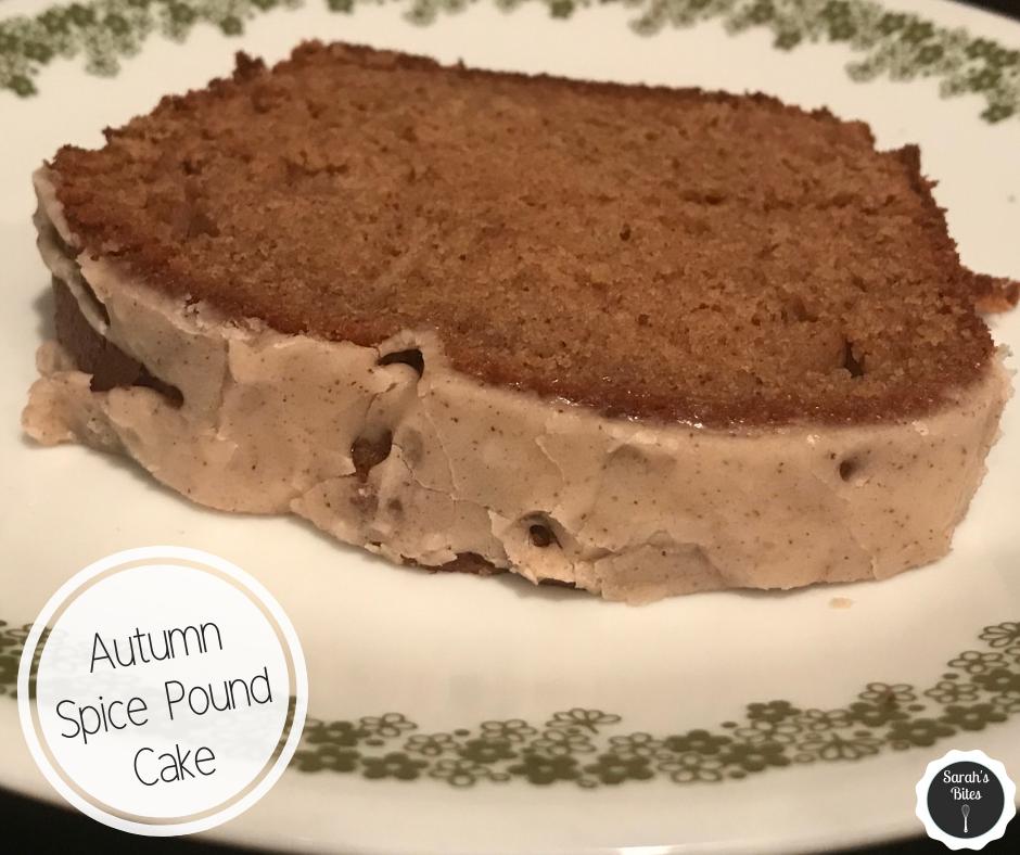 Autumn Spice Pound Cake
